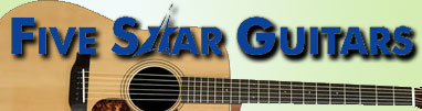 Five Star Guitars logo