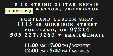 Portland Custom Shop logo