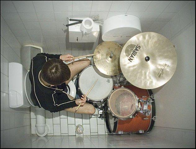 Ba-dum.. flush!