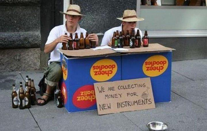 Money for New Instruments