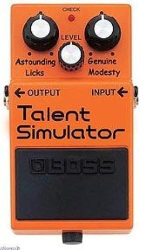 Talent Simulator Pedal